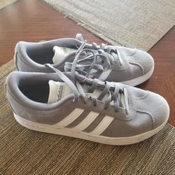 Adidas Shoes | Adidas Boys Casual Shoes | Color: Gray/White | Size: 4.5bb