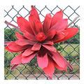 Frais Grande mousse fleur géante artificielle Corolle extérieur fond de mariage à thème design Mall Vitrine Party Decor Couleur (Color : Red)