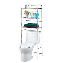 Bathroom Space Saver,3-Tier Freestanding Metal Over The Toilet Storage Rack,Bathroom Storage Shelf,Space Saver Storage Shelf Rack Organizer