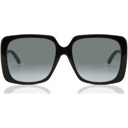 GG0728SA Asian Fit 001 Women's Sunglasses - Black - Gucci Sunglasses