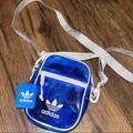 Adidas Bags | Adidas Crossbody Bag Blue | Color: Blue | Size: Os