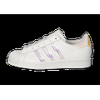 adidas Superstar Junior Blanche Iridescente Baskets Enfant