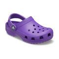 Crocs Neon Purple Kids' Classic Clog Shoes