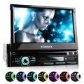"XOMAX XM-DTSB928 Autoradio avec Écran Tactile 7"" / 18 cm, DVD, CD, Bluetooth, SD, USB, 1 DIN"