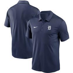 """Men's Nike Navy Detroit Tigers Team Logo Franchise Performance Polo"""