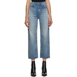 Denim Original High-rise Jeans - Blue - Saint Laurent Jeans
