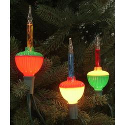 Northlight Seasonal Retro Christmas Bubble Light Bulb String Lights in Green/Red/Yellow, Size 4.5 H x 84.0 W x 1.75 D in | Wayfair 32913374