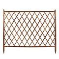 Clôture/treillis décoration clôture en bois/grille/Ajouter crossbar Garde-corps/Extérieur clôture de jardin/clôture Animaux (Size : 104x176cm)