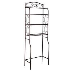 3-Tier Metal Bathroom Shelf Space Saver, Toilet Shelf Organizer, Bathroom Space Saver, Over The Toilet Rack (#4)