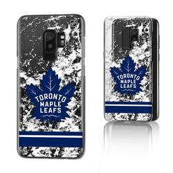 Toronto Maple Leafs Galaxy Stripe Clear Ice Case