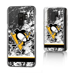 Pittsburgh Penguins Galaxy Stripe Clear Ice Case