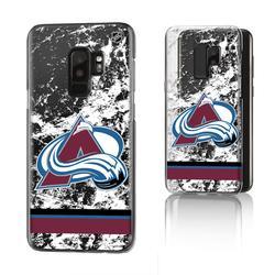 Colorado Avalanche Galaxy Stripe Clear Ice Case