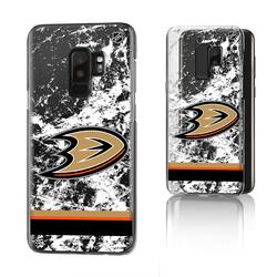 Anaheim Ducks Galaxy Stripe Clear Ice Case