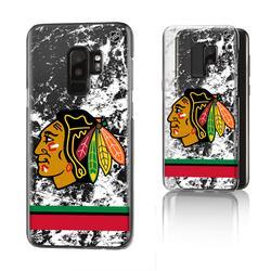 Chicago Blackhawks Galaxy Stripe Clear Ice Case