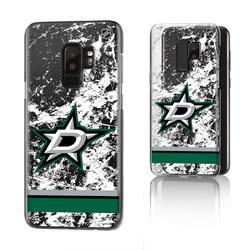 Dallas Stars Galaxy Stripe Clear Ice Case