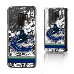 Vancouver Canucks Galaxy Stripe Clear Ice Case