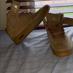 Nike Shoes | New Nike Air Lebron James Wheat Suede Shoes | Color: Tan | Size: 7bb