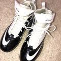 Nike Shoes   Nike Soccer Mens Tenis Shoes Sz 12   Color: Black/White   Size: 12
