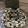 Coach Bags | Coach Backpack | Color: Black/Gray | Size: Os