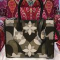 Michael Kors Bags | Michael Kors Mercer Green Leather Nwot Handbag | Color: Green | Size: Large