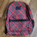 Pink Victoria's Secret Bags | Pink Victoria Secret Campus Backpack Red Plaid | Color: Red | Size: Os