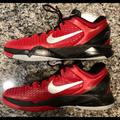 Nike Shoes   Kobe Bryant - Authentic Nike Zoom Kobe Vii   Color: Black/Red   Size: 10.5