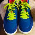 Nike Shoes | Nike Air Flight Tennis Shoes, Size 7 | Color: Blue/Green | Size: 7