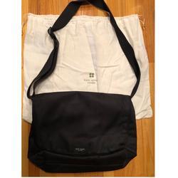 Kate Spade Bags   Kate Spade Nylon Messenger Bag   Color: Black   Size: 13 H X 9 W X 5 D