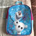 Disney Bags | Olaf Frozen Small Backpack | Color: Blue | Size: Os