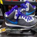 Nike Shoes | Nike Lebron James8 V2 Size 11.5 Nba Retro | Color: Blue/Gray | Size: 11.5