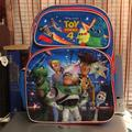 Disney Bags | Disney Pixar Toy Story 4 Lg Kids Backpack Nwt | Color: Blue/Red | Size: Os