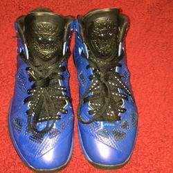 Nike Shoes | Nike Shoes Lebron 8 Ps Royalblack | Color: Black | Size: 6