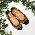 Coach Shoes   Coach Signature Wanda Ballerina Flats   Color: Brown/Tan   Size: 8