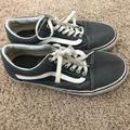 Vans Shoes   Grayblue Vans Womens Size 10 (Mens Size 8.5)   Color: Blue/Gray   Size: 10