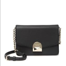 Kate Spade Bags   Kate Spade Leather Neve Convertible Flap Crossbody   Color: Black   Size: Os