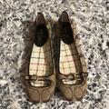 Coach Shoes   Coach Flats Worn Once   Color: Brown/Tan   Size: 7