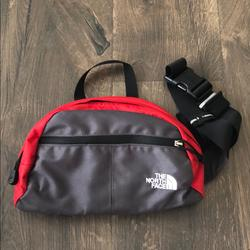 The North Face Bags   North Face Hip Bag   Color: Gray/Red   Size: Os