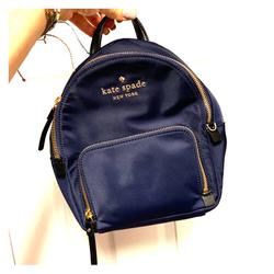 Kate Spade Bags   Kate Spade - Navy Blue Mini Backpack   Color: Blue   Size: Small Backpack