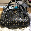 Michael Kors Bags   Nwot Michael Kors Black Studded Hamilton Bag   Color: Black   Size: Os