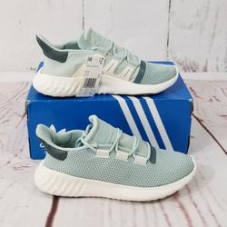 Adidas Shoes | Ladidas Women'S Originals Tubular Casual Shoes | Color: Green/White | Size: 8