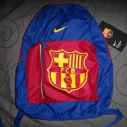 Nike Bags   Nike Barcelona Soccer Backpack Nwt $54.99   Color: Blue/Red   Size: Os