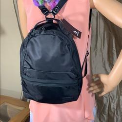 Converse Bags | Converse Unisex-Adult Mini Backpack Black | Color: Black | Size: 12 X 10 X 4.5