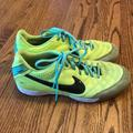 Nike Shoes   Nike Indoor Soccer Shoe Court Shoe   Color: Green/Yellow   Size: 7