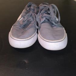 Nike Shoes | Nike Shoes Vans Like (Mens 8, Women 7) | Color: Gray | Size: Women 7