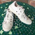 Converse Shoes | Girls Trendy Cream Converse | Color: Cream | Size: 4 Youth