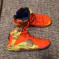 Nike Shoes | Lebron 12 Prime Meridian Orange And Blue Shoes. | Color: Blue/Orange | Size: 9.5