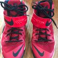 Nike Shoes | Lebron Nike Basketball Sneakers | Color: Red | Size: 7bb