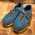 Columbia Shoes | Columbia Kids Hiking Shoes Blue Yellow Sz 3 | Color: Blue/Yellow | Size: 3bb