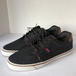 Levi's Shoes | Levis Mens Comfort Insole Jean Shoes Size 9.5 | Color: Blue/Brown | Size: 9.5