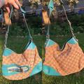 Gucci Bags   Horsebit Gucci Bag   Color: Blue/Tan   Size: Os